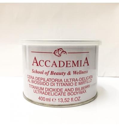 CERA DEPILATORIA ULTRA-DELICATA ACCADEMIA 400 ml