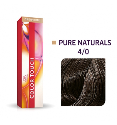 Color touch  4/0 wella 60 ml