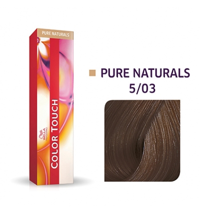 Color touch  5/03 wella 60 ml